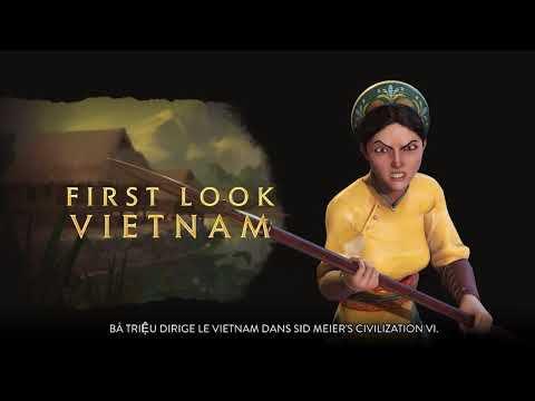 [ACTUALITE] Civilization VI - Pass New Frontier : Pack Vietnam et Kubilai Khan - Premier aperçu de Bà Triệu