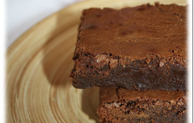 Ronde interblogs #27: Brownies au chocolat traditionnel.