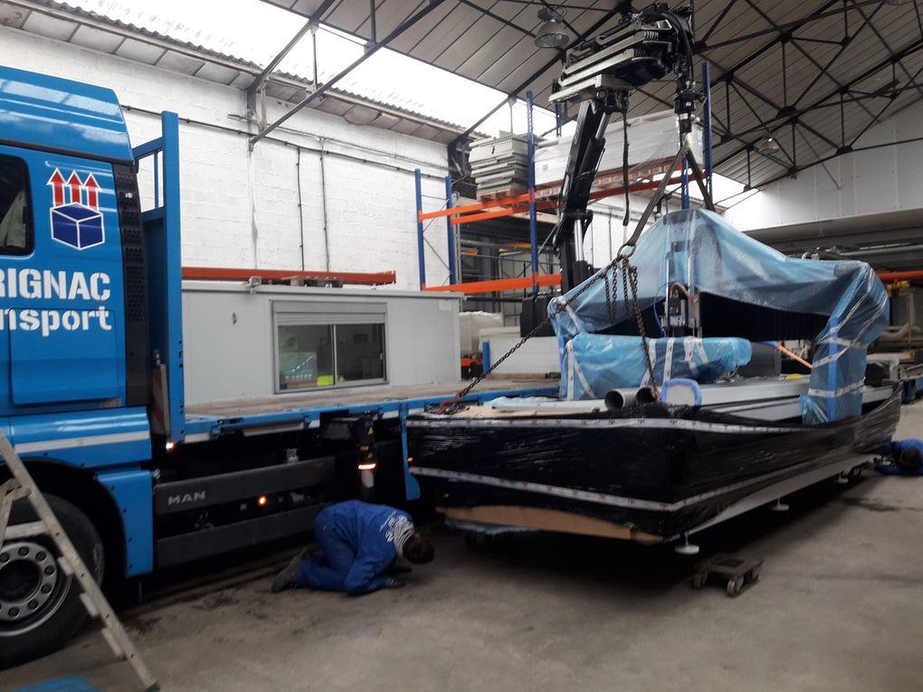 Centre d'usinage SBC 4000 x 2000 avec Z de 500