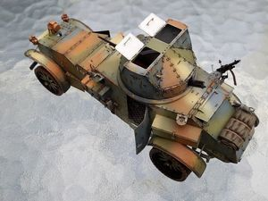 AMD WHITE TBC ( AZIMUT Productions ) maquette 1/35 armée française mai-juin 1940, modèle réduit 1/35, matériel militaire français seconde guerre mondiale mai-juin 1940