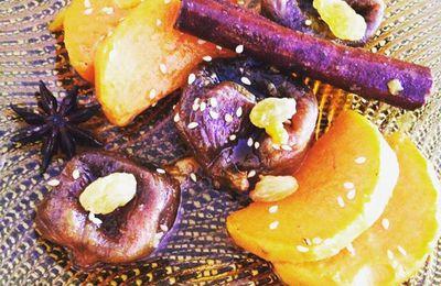 Tajine à la patate douce (tajine batata hlouwa)