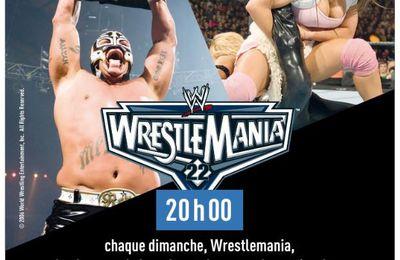 Wrestlemania 22 ce dimanche 14/06 à 20h00 sur la chaîne l'Equipe !
