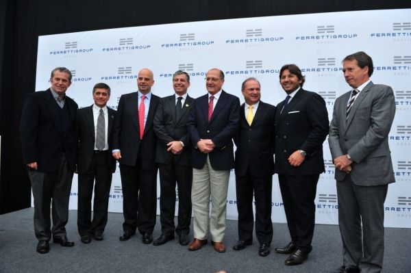 Le chantier Ferretti inaugure une usine au Brésil