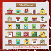 Advent calendar (Christmas traditions) by Véronique Lecomte on Genially