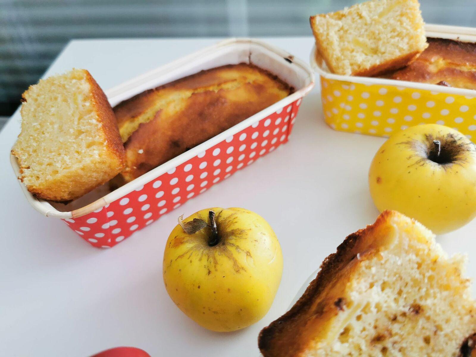 cakes aux pommes en trois façons
