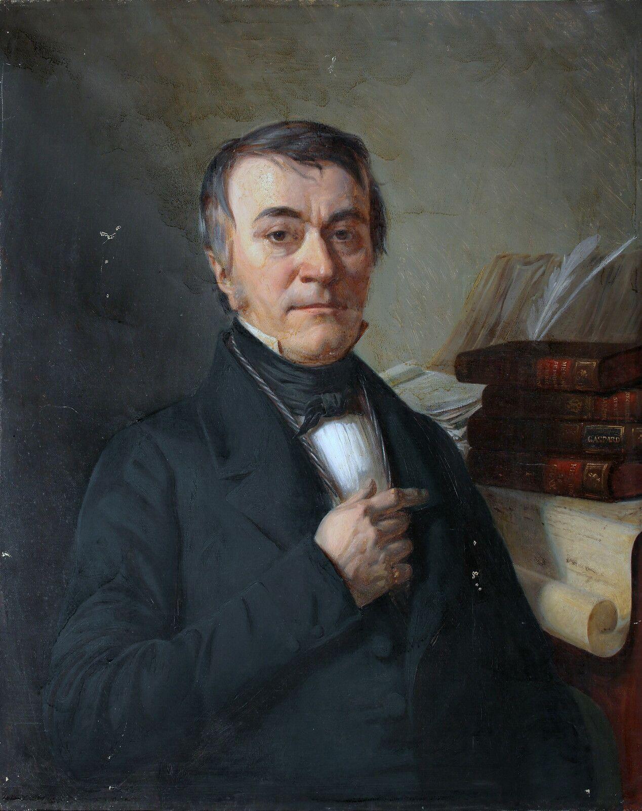Gaspard, l'historien de Gigny. Cl. H. Bbertand/Musée de Dole