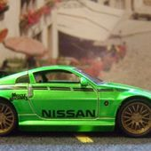 NISSAN 350Z FUNLINE MUSCLE MACHINES 1/64 - car-collector.net