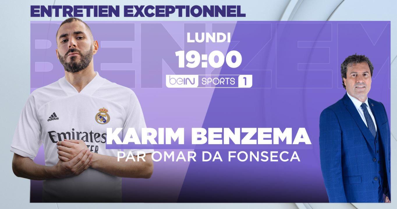L'entretien exceptionnel de Karim Benzema en intégralité ce lundi dans beIN BLEUS