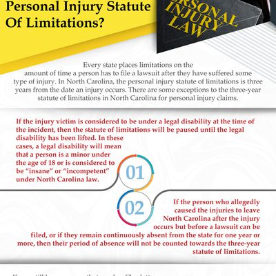 Are There Exceptions To The North Carolina Personal Injury Statute Of Limitations?