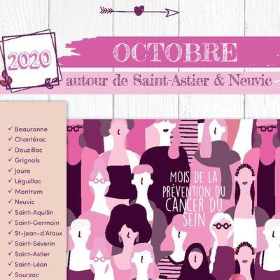 Agenda octobre 2020 autour de Neuvic et St Astier