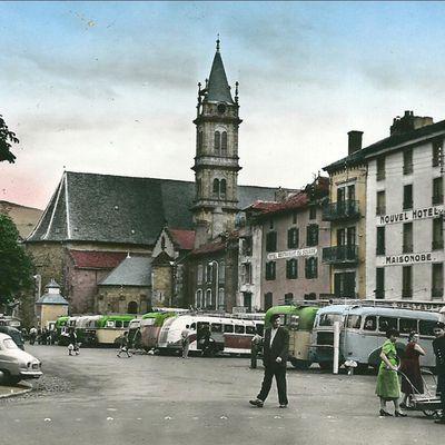 Les années 50-60 à Aurillac