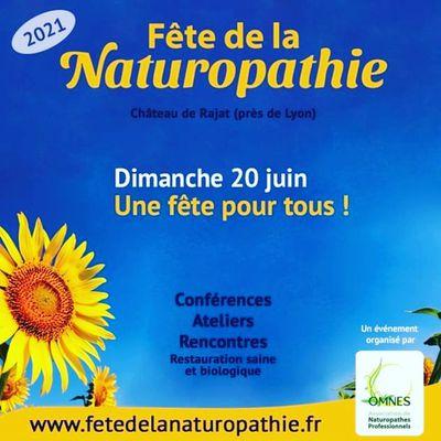 La fête de la Naturopathie, C'est bientôt !