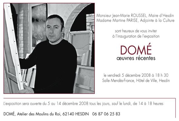 """EXPOSITION """"DOME"""" A HESDIN..."""