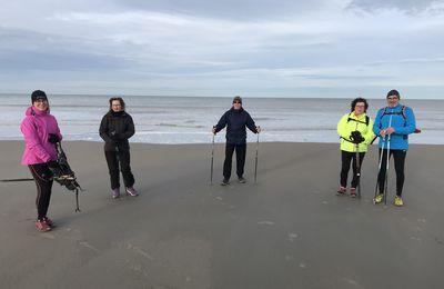 La plage de Malo le mercredi 20 janvier