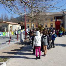 Saint André les Alpes : L'école a fait sa «grande lessive»