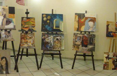 stage collage/peinture Florence (suite)