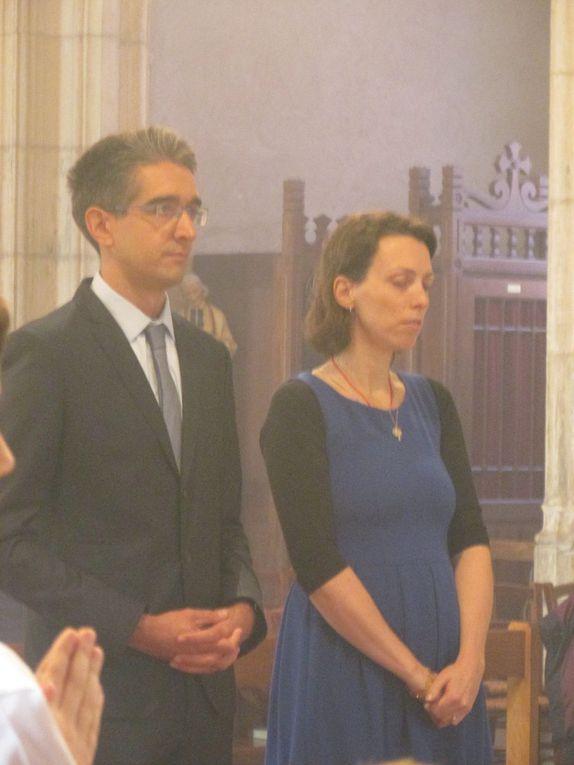 Messe solennelle et fiancailles de Léonore et Vincent.