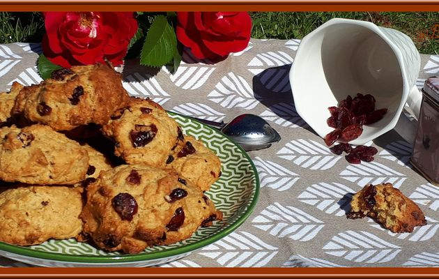 Bannique: biscuits aux cranberries Canadien