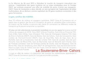 33 parkings de gare routières vont être gérées par la SNCF