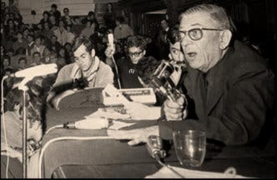 Hommage en image à Jean-Paul Sartre