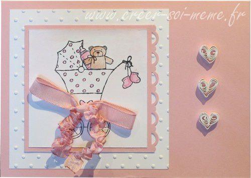 Toutes mes créations sur le thème de la naissance avec des idées de faire part ou de carte de félicitation