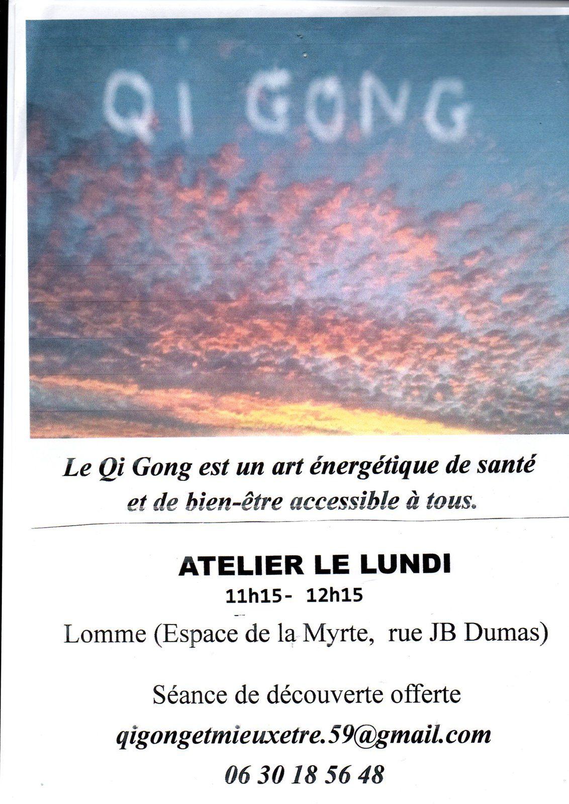 ATELIER QI GONG avec Christine Perri Le lundi 11h15/12h15