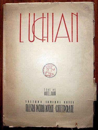 Ionel Jianu,Luchian, Editura Căminul Artei, 1947