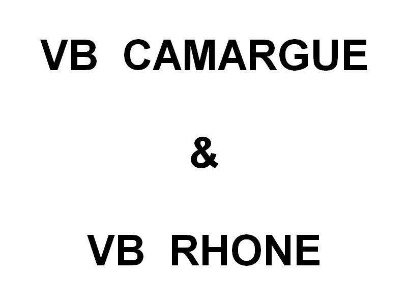 VB CAMARGUE & VB RHONE , à Port de Bouc / Lavera le 21 mai 2016
