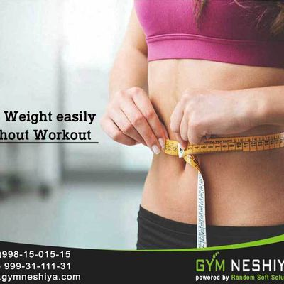 Loss Weight easily without Workout