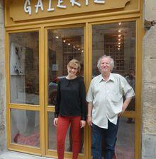 Treguier : Exposition collective d'artistes au 20 rue Colvestre par Louis LIBERGE