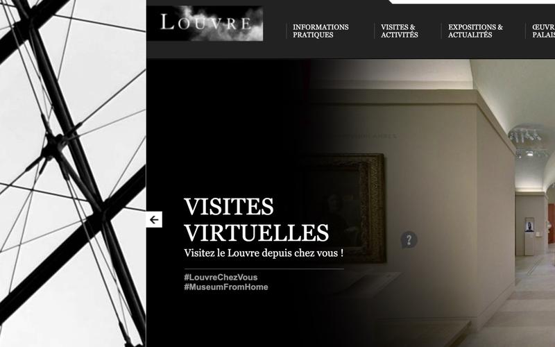 Galerie Louvre : allons visiter virtuellement le musée du Louvre