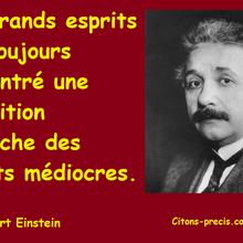 Einstein : 25  aphorismes du maître de la relativité