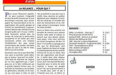 Bulletin d'information UD CGT 18