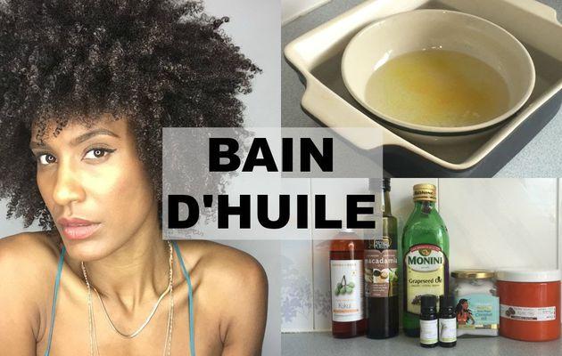 Bain d huile cheveux secs
