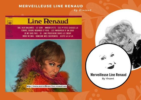 33 TOURS: 1969 CBS - S 52723 - Line Renaud
