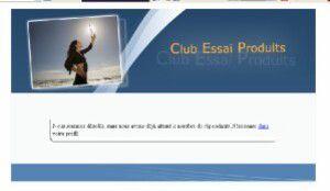 J'ai testé pour vous... le site Club Essai Produits