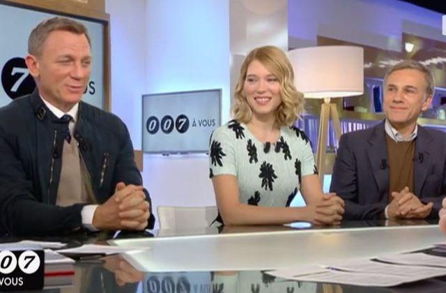 """""""James Bond"""" sur le plateau de C à vous : la séquence complète (Vidéo)"""