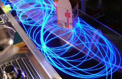 éclairage, décoration lumineuse en fibre optique - MIDLIGHTSUN