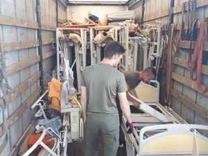 Le 182ème camion d'AIMA est parti pour la Lettonie