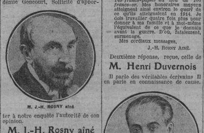 "J.-H. Rosny aîné ""La misère des professions libérales"" (1926)"