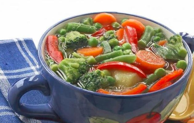 Potage légumes cookeo weight watchers