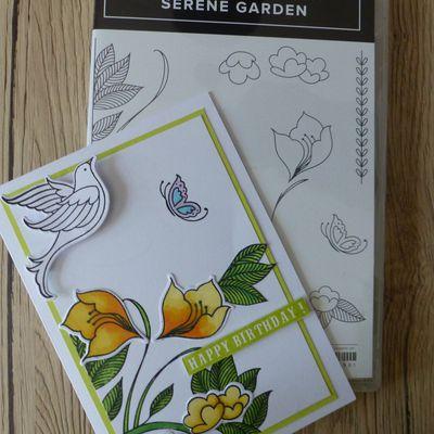 Cartes Serene Garden