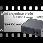 Test MINI-VIDEOPROJECTEUR - DLP HDMI - [PEARLTV.FR]