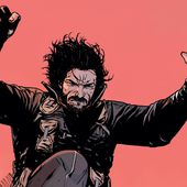 Whoa! Check out an exclusive look at Keanu Reeves' action-packed first comic book, 'BRZRKR'
