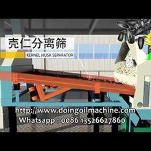 Sunflower seed oil production process video of Doing Company