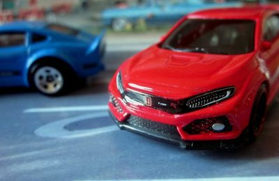 2018 HONDA CIVIC TYPE R HOT WHEELS 1/64.