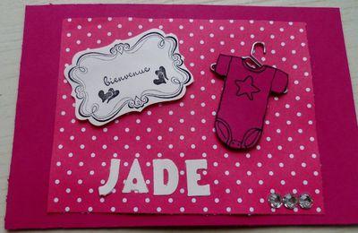bienvenue Jade!!!