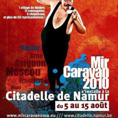 Attention convoi exceptionnel : MIR CARAVAN fait escale pour 10 jours à la Citadelle de Namur !