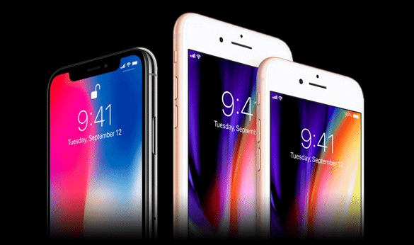 Comparatif : iPhone X vs iPhone 8