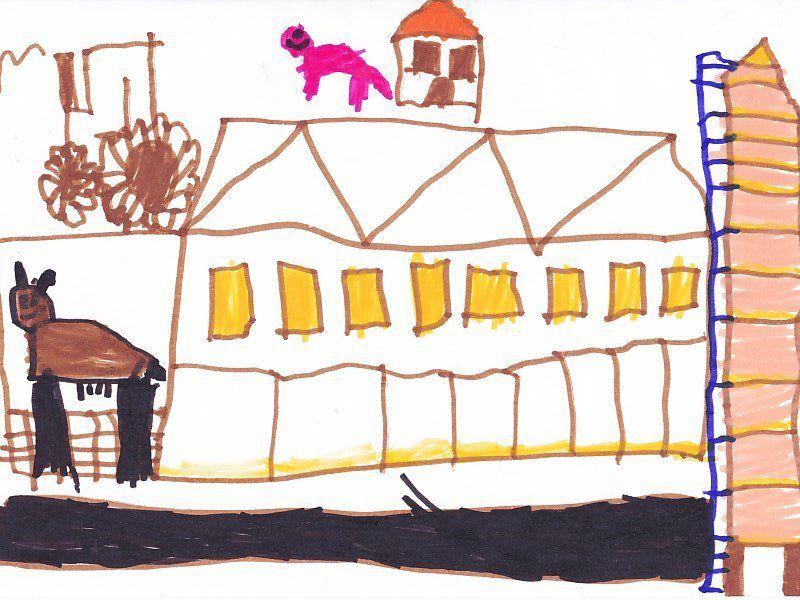 Le moulin de la ferme du Chaudron Magique